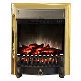 Очаг 2D REAL-FLAME Fobos Lux Brass